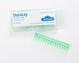 [2301] DURALAY PLASTIC PINS FOR POST & CORE
