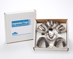 [3834] PERFORATED IMPRESSION TRAY SET EDENTULOUS